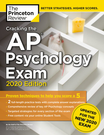 Cracking the AP Psychology Exam, 2020 Edition