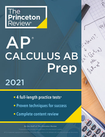 Princeton Review AP Calculus AB Prep, 2021
