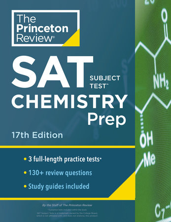Princeton Review SAT Subject Test Chemistry Prep, 17th Edition